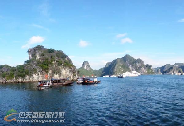 越南下龙湾、巡洲岛、吉婆岛、河内5天休闲游(含天堂岛,护照团)