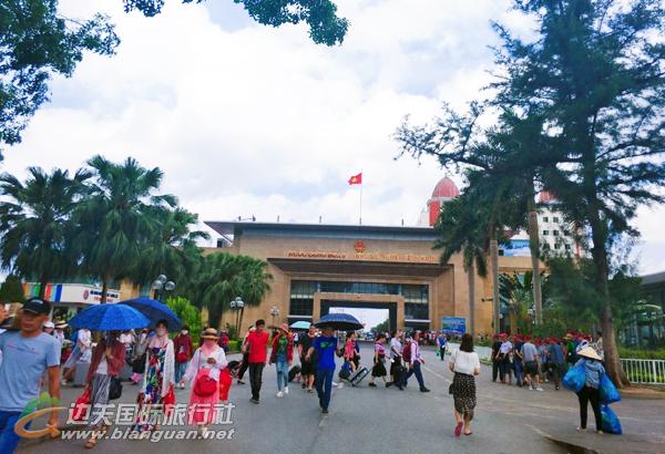 【通行证】越南芒街一日游220元/人起(不用护照,持身份证即可办理边境旅游通行证出游)