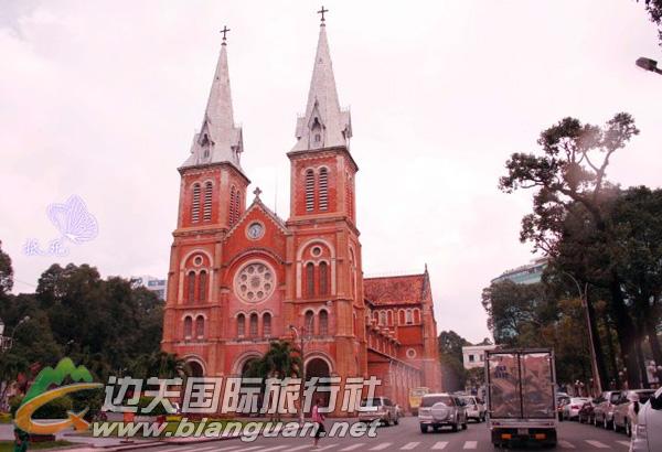 红教堂,胡志明市红教堂
