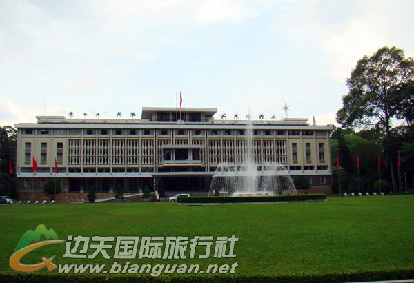总统府,胡志明市总统府