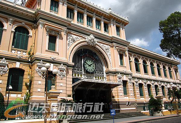 中央邮局,胡志明市中央邮局