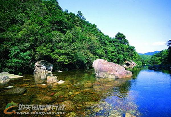 上思石头河,防城港上思石头河