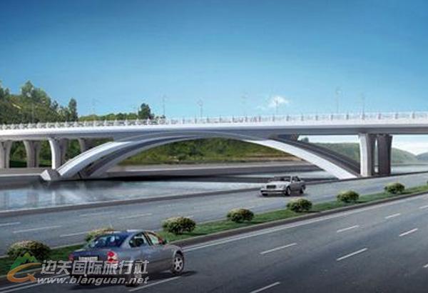 东兴中越北仑河二桥