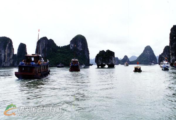 越南芒街、下龙湾3日游(护照或通行证出境)