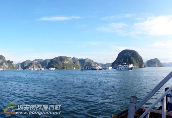 越南下龙湾、宁平陆龙湾、河内4日双湾游(含天堂岛,东兴进,凭祥出,护照团)