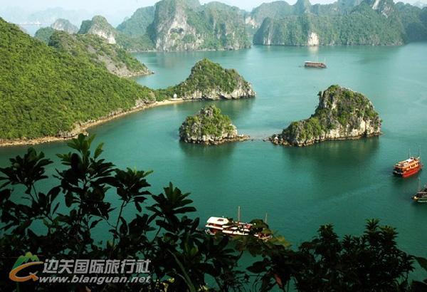2013年东兴越南旅游计划之:下龙、河内、西贡、美拖、头顿六天五晚游