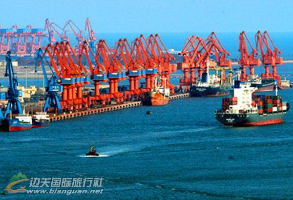 西部最大的集装箱码头,防城港西部最大的集装箱码头