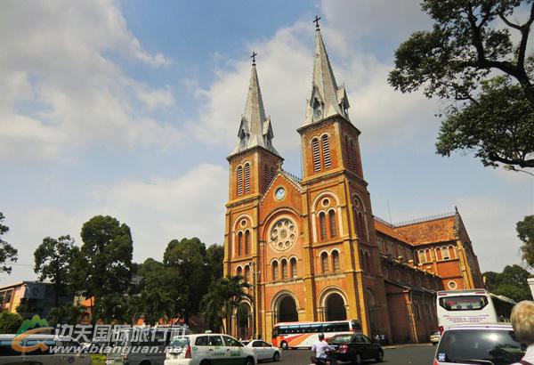 胡志明市王公圣母教堂