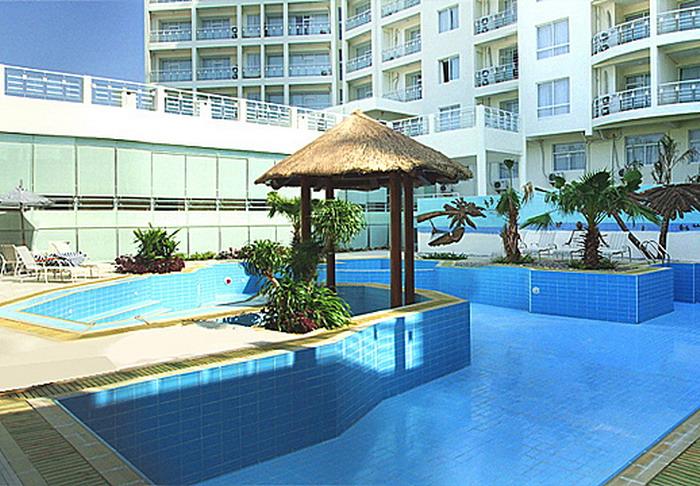 北海和美度假酒店地图 北海和美假日湾度假酒店位于银滩旅游区内,傲