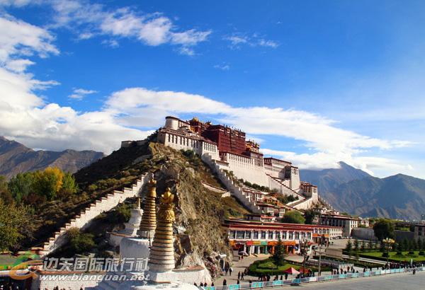 西藏拉萨、布达拉宫、大昭寺、林芝、巴松措、日喀则、羊卓雍措双飞七日游