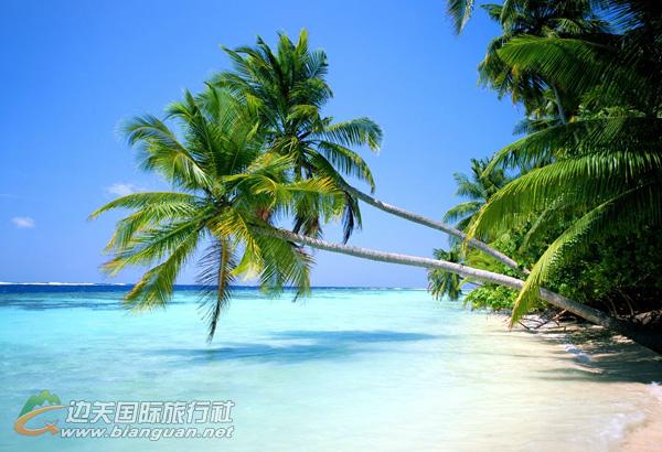 椰岛海岸南宁三亚海口双飞五天游