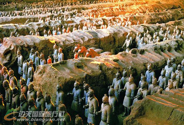 西安、兵马俑、华清池、华山、大明宫双飞5日游