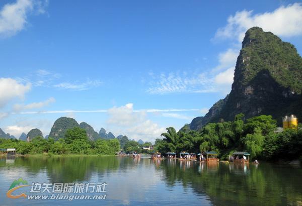 防城港•桂林动车之旅行程计划:桂林、漓江、阳朔、乐满地4日游