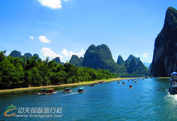 防城港•桂林动车之旅行程计划:桂林、漓江、龙脊梯田4日游