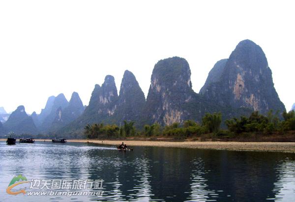 防城港•桂林动车之旅行程计划:桂林、兴坪漓江、阳朔4日游