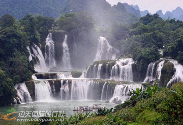 德天瀑布•通灵大峡谷•北海5天4晚游