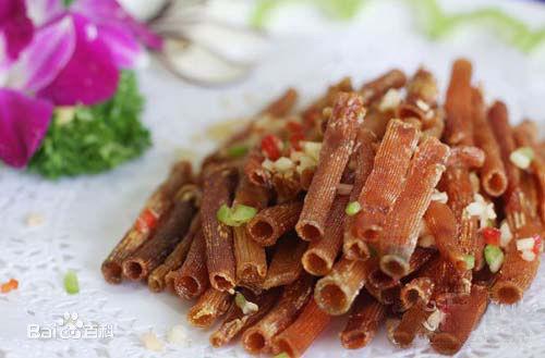 东兴海鲜美食:沙虫干