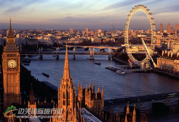 欧洲旅游英国深度8日游 拜访世界著名学府