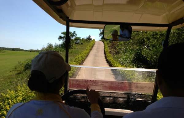 广西防城港江山半岛高尔夫球场参观游记