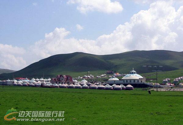 西藏、内蒙希拉穆仁大草原滑雪、银肯响沙湾、西安兵马俑、华清池双卧单飞7日游
