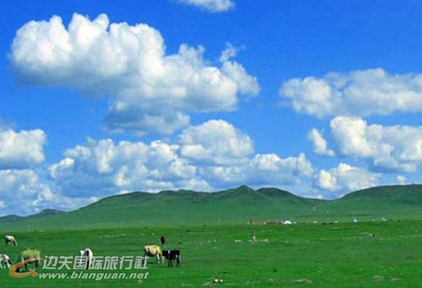 西藏银色草原、银肯响沙湾、塞外青城双飞五日游