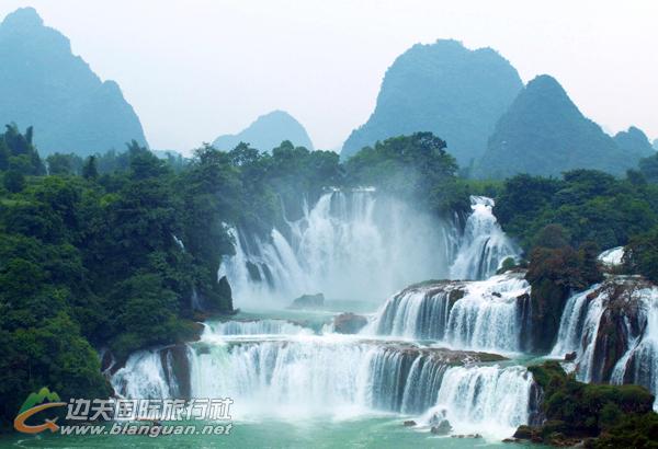 [跟团游]中越边境德天瀑布、古龙漂流、巴马双百一村三日游