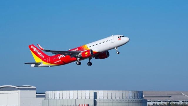 越捷航空因台风调整从越南飞往中国台湾航班