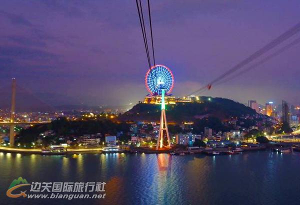 【摩天夜色】越南下龙湾、摩天轮、缆车2天1晚游(小包团自由行,自助游)